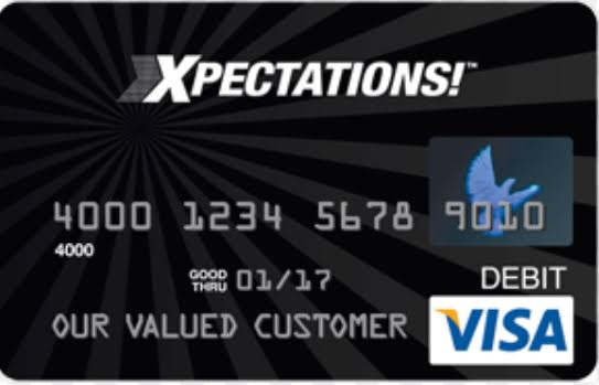 my xpectations card login,