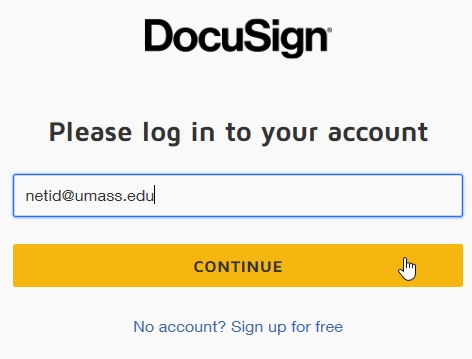 docusign login guide