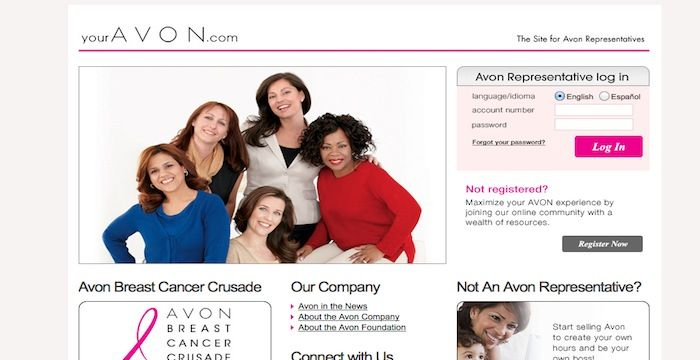 Avon Rep Login- My Avon Store Login