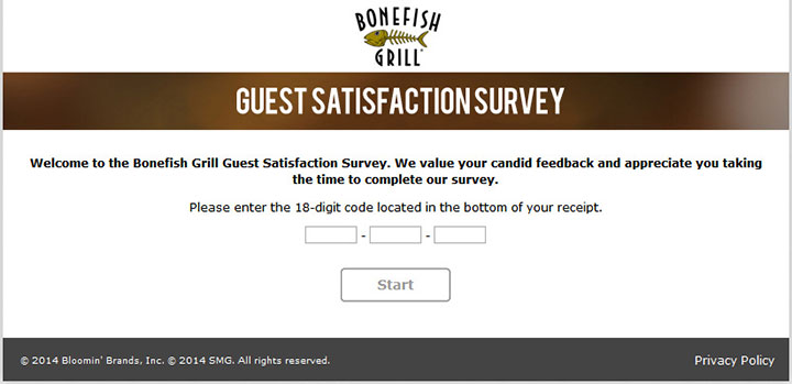 Bonefish Grill Survey | Complete Step by Step Guide To BonefishExperience To Win$1,000