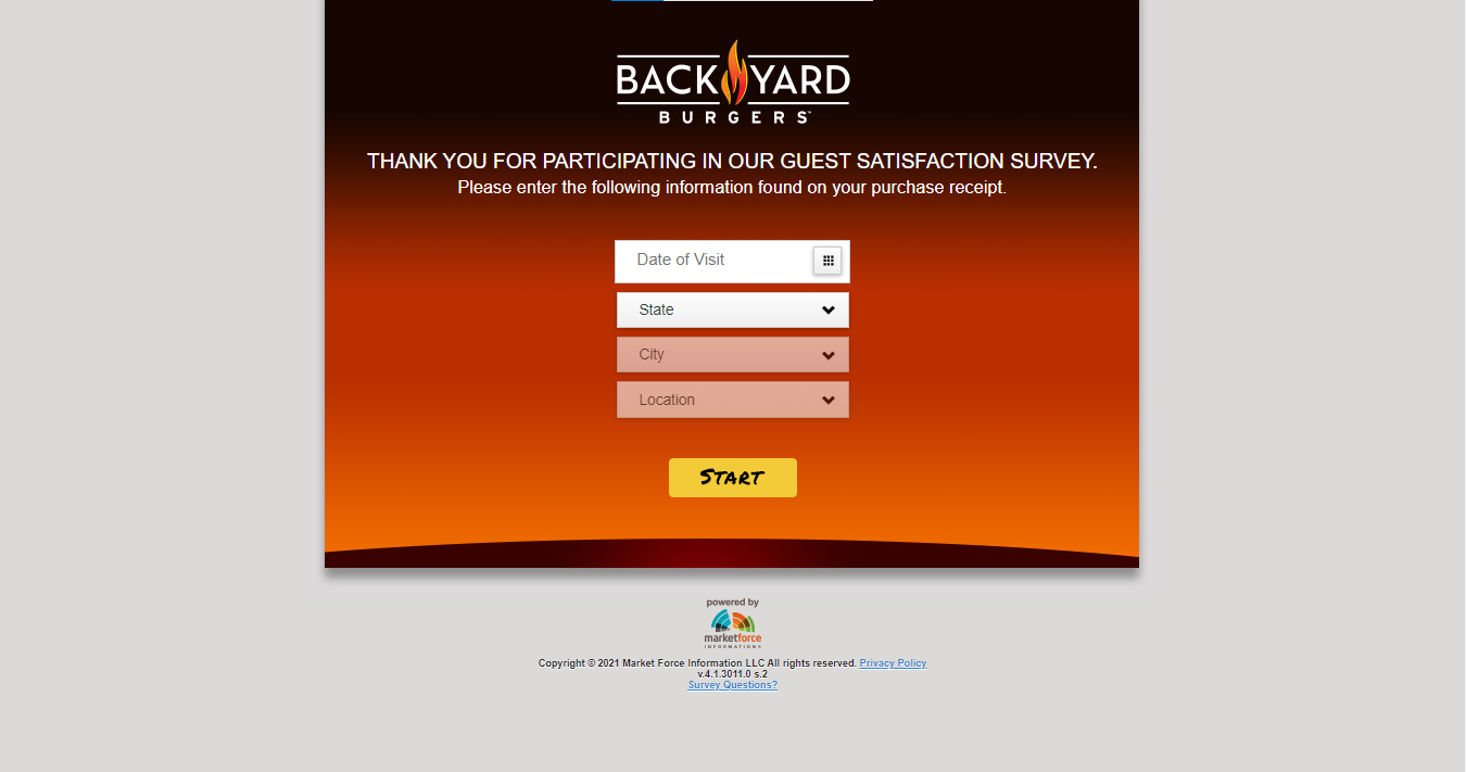 Backyardburgersfeedback- Back Yard Burgers Survey